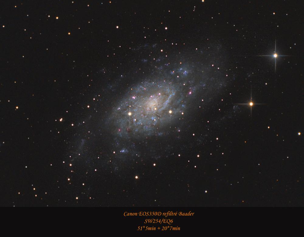 La grande Galaxie de Camelopardalis NGC2403-realease-Webastro-hiver-2012