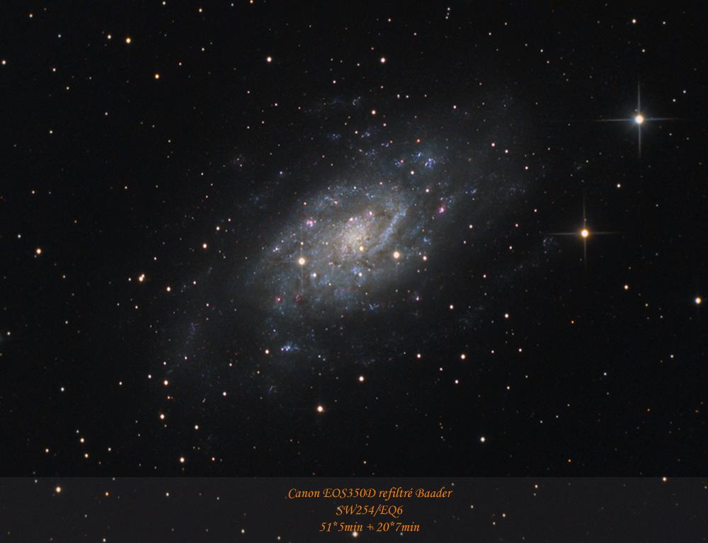 La grande Galaxie de Camelopardalis NGC2403-realease-Webastro-hivers-2012bis