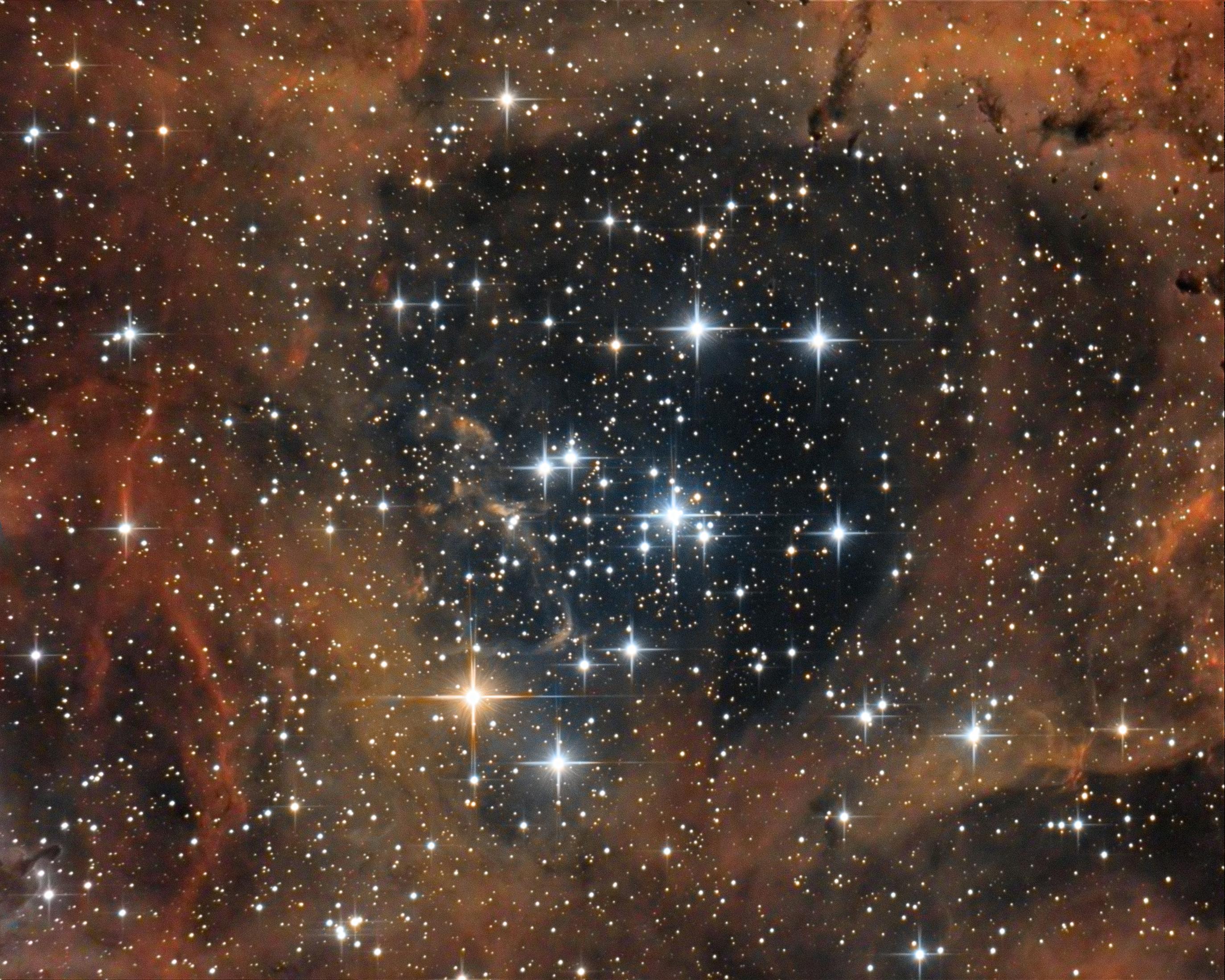 Le plus facile, un bout de NGC2244 Ngc2244_2016